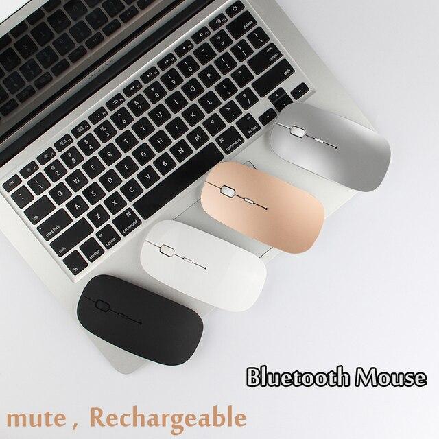Les Souris silencieuses Rechargeable Bluetooth Souris Pour Lenovo Yoga 720 710 920 910 900s 6 7 Pro 5 4 ThinkPad Nouveau S3 S2 S1 X1 Ordinateur Portable