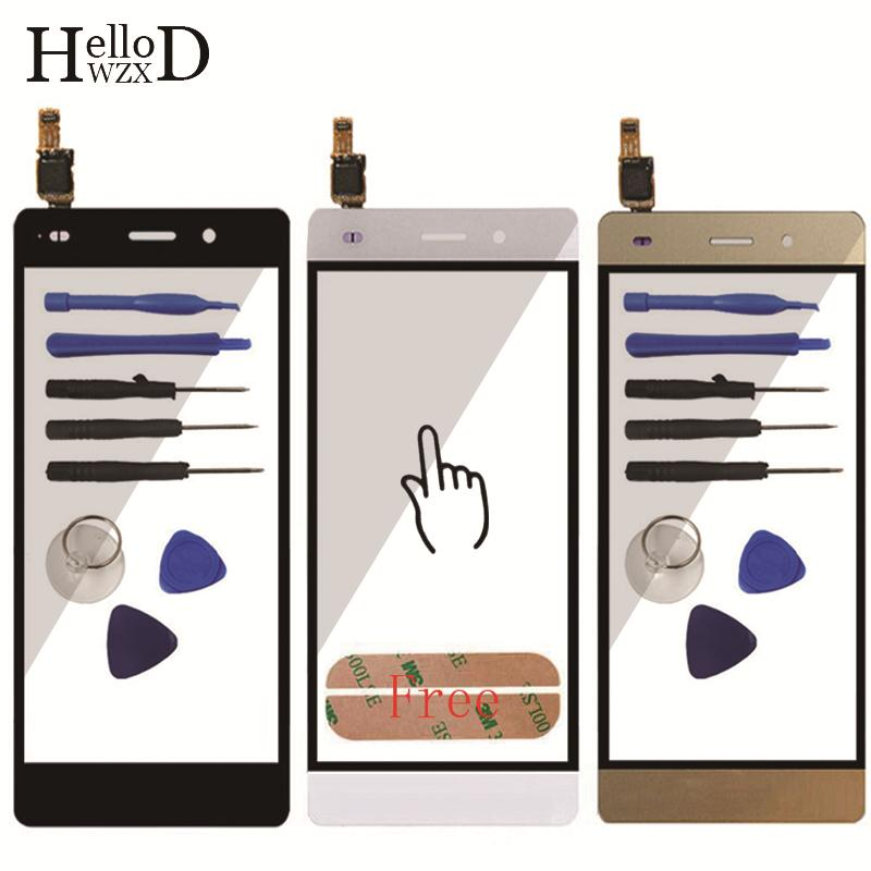 Factory Price A+++ Mobile Phone Front Touch Screen For Huawei P8 Lite Touch Screen Glass Digitizer Panel Touchscreen Lens Sensor