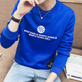 YG6176-6Cheap wholesale 2017 new Han edition cultivate one's morality leisure men round collar color matching long sleeve fleece