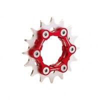Fouriers Bicycle Freewheel Single Speed Freewheel BMX Flywheel Sprocket Gear 16/17/18/19/20/21/22/23T Bicycle Accessories