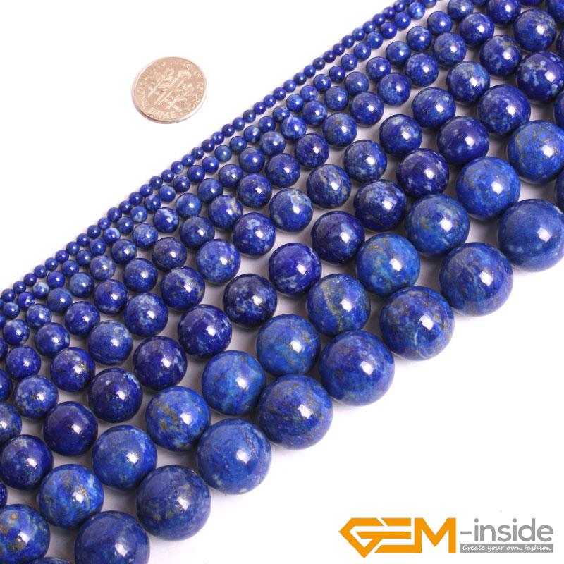 Dedicated Wholesale Free Shipping Natural Stone Blue Lapis Lazuli Tiger Eye Agates Round Loose Beads 1 Strand 6 8 10 Mm Pick Size Beads