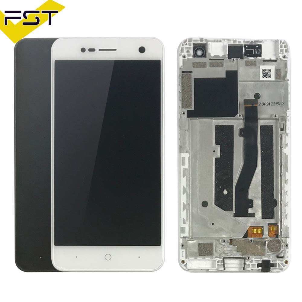 For ZTE Blade V8 mini LCD Display+Touch Screen Assembly With Frame Replacement Parts Cell Phone Accessories+Tools+AdhesiveFor ZTE Blade V8 mini LCD Display+Touch Screen Assembly With Frame Replacement Parts Cell Phone Accessories+Tools+Adhesive