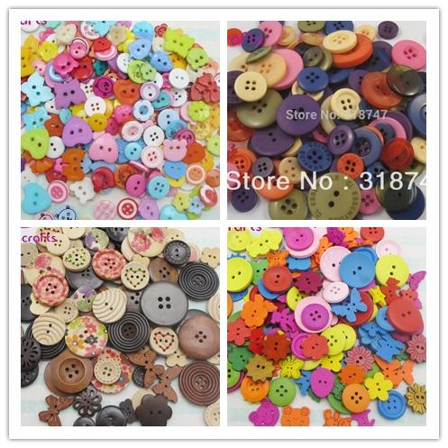 20 г лидер продаж смешанный цвет и размер кнопки и кнопка DIY ремесло аксессуары 13020010