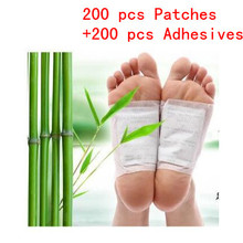 400 Pcs/lot Detox Foot Patches Pads Body Toxins Feet Cleansi
