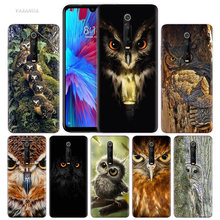 Camouflage Owl Case for Xiaomi Redmi Note 7 7S K20 Y3 GO S2 6 6A 7A 5 Pro MI Play 9T A1 A2 8 Lite Poco F1 TPU Animal Phone Cover(China)