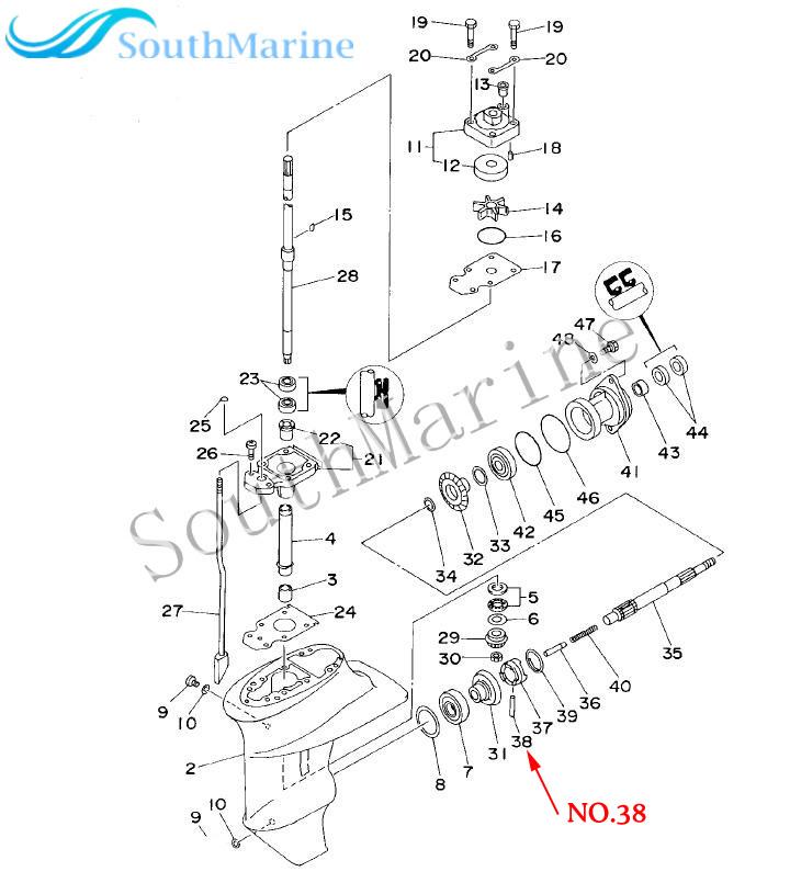 [SODI_2457]   F15 06070004 Clutch Pin For Parsun HDX Makara F9.9 F15 Outboard Motor Boat  Engine  - AliExpress   Outboard Engine Diagram Clutch      AliExpress