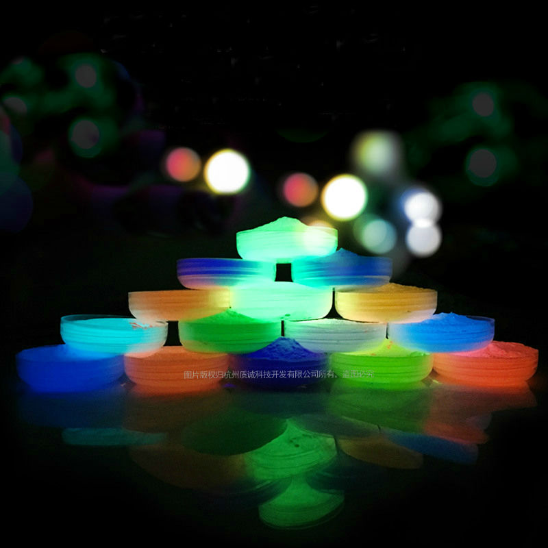14 Colors Luminous Powder,photoluminescent Acrylic Paint Fluorescent Pigment,glow In Dark Pigment,Special For Epoxy