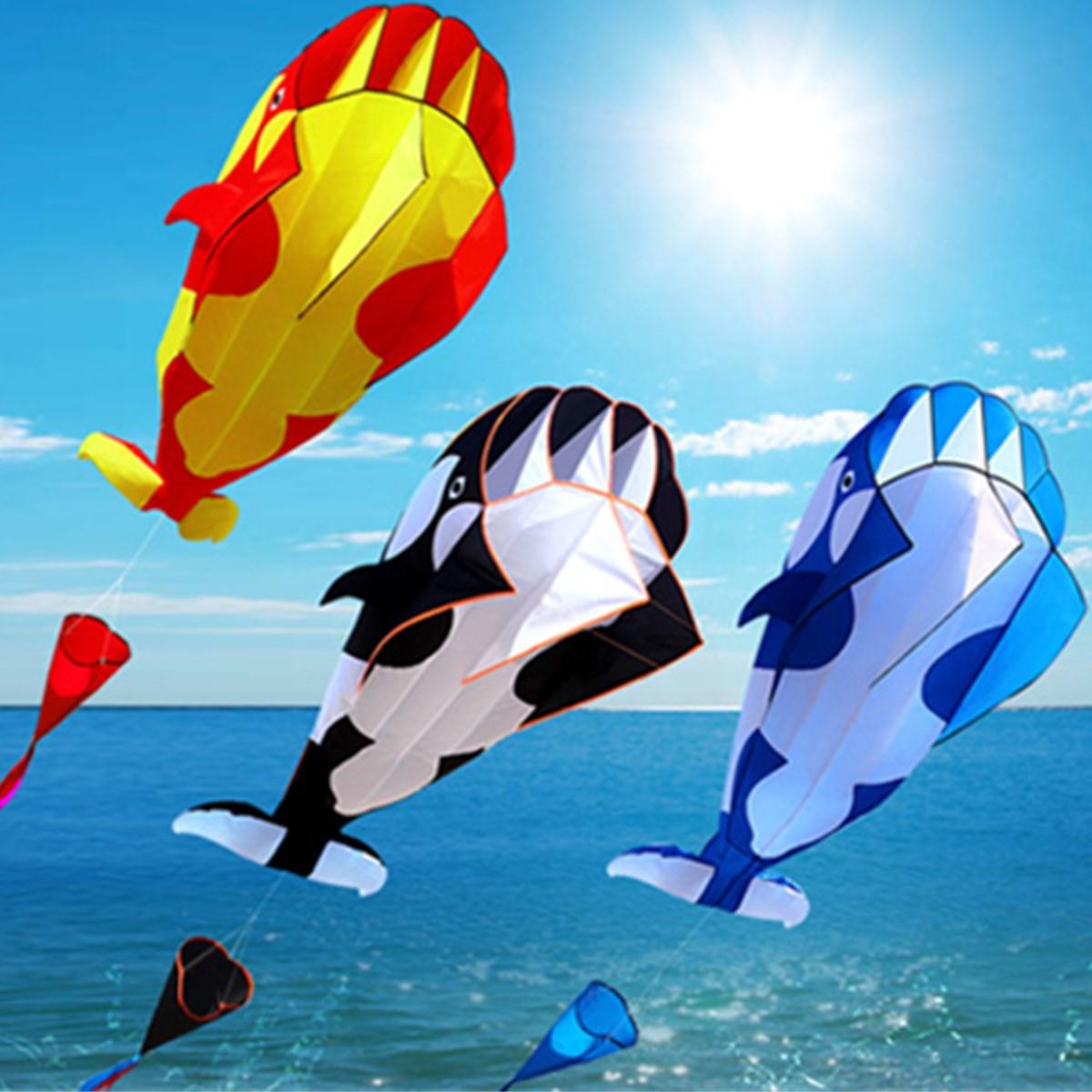 3D Cartoon Whale Kite For Children Software Kite Kids Girls Cute Animal Kites Single Line Parafoil Giant Whale Flying Kite Toys все цены