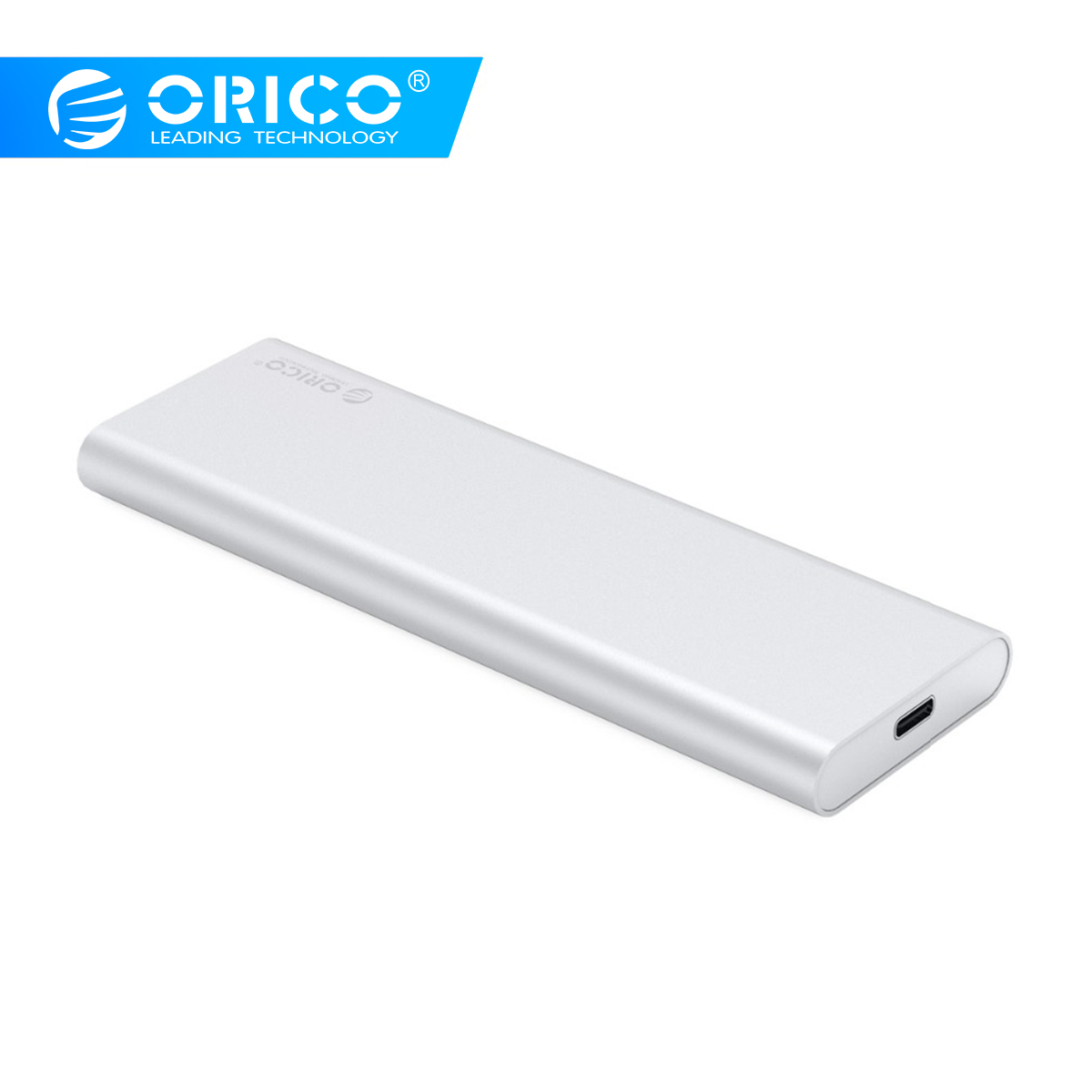 ORICO 2 Bay SSD Enclosure Type-C USB3.1 10Gbps Gen2 M SATA SDD Support Raid 0 PM 2TB 4TB Max Compatible with Windows/Linux/Mac