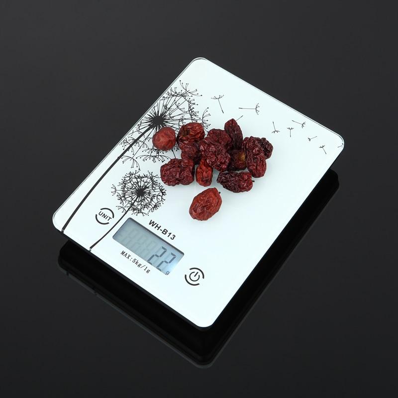 5kg 1g háztartási elektronikus konyhai mérleg postai digitális - Mérőműszerek - Fénykép 4