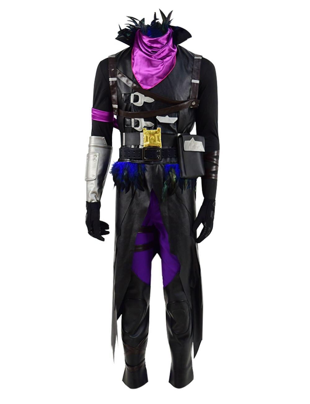 Halloween Cosplay Costume Raven Cosplay Full Set