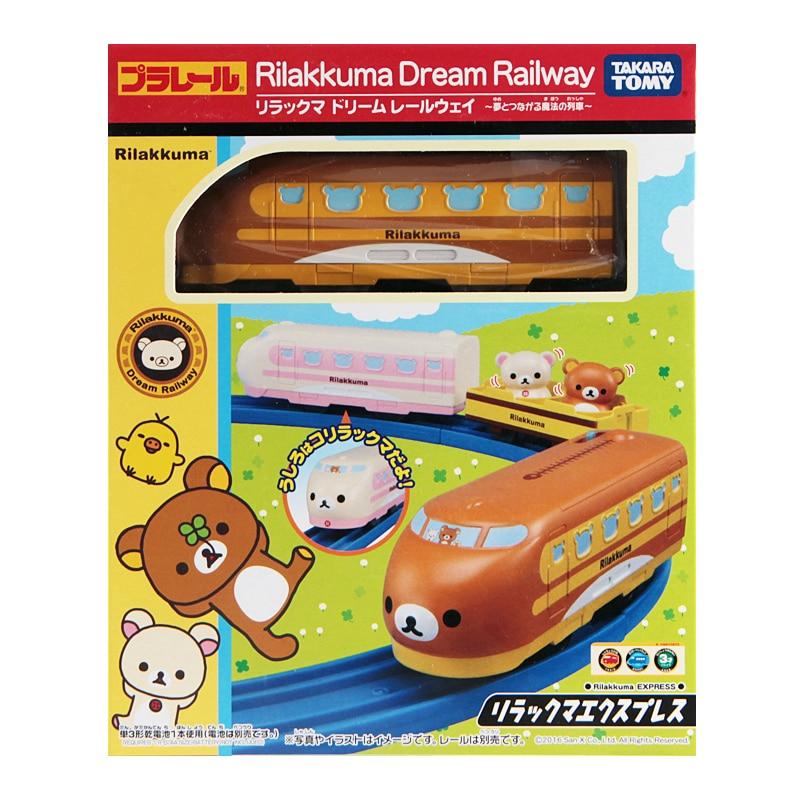Takara Tomy Dream chemin de fer Plarail Rilakkuma motorisé jouet Train nouveau