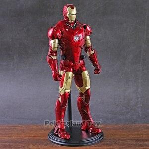 Image 1 - Железный человек МК Mark 3 III большая статуя 1:6 экшн фигурка Коллекционная модель игрушка