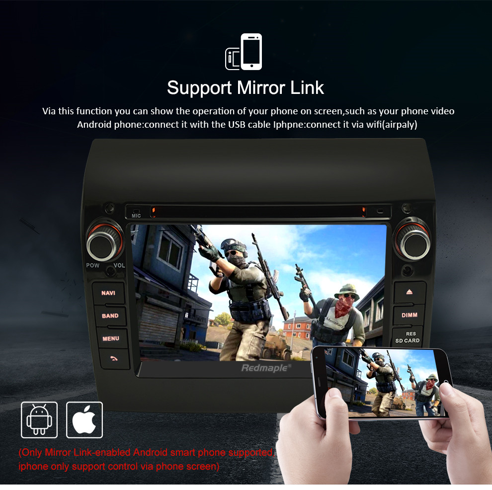 """Image 5 - 8 Core 7"""" IPS Android 9.0 Car Stereo For Fiat Ducato CITROEN Jumper PEUGEOT Boxer DVD Player GPS Navigation Wifi FM Multimedia-in Car Multimedia Player from Automobiles & Motorcycles"""
