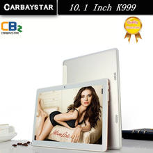 K999 CARBAYSATR Metal 10.1 pulgadas Inteligente android tablet pc ROM 64 GB 1280*800 IPS pantalla Android Tablet Móvil teléfono GPS ordenador