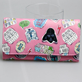 Star wars mujeres Pink monedero largo DFT-1801