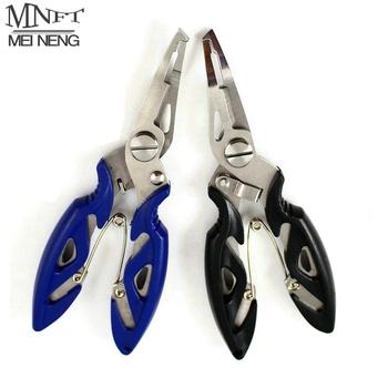 MNFT szczypce do połowu nożyczek warkocz linia Lure Cutter narzędzie do odczepiania haczyków itp narzędzie walki cięcie ryb użyj szczypiec wielofunkcyjne nożyczki tanie i dobre opinie CN (pochodzenie) Approx 12 5cm Stainless steel ABS Szczypce wędkarskie