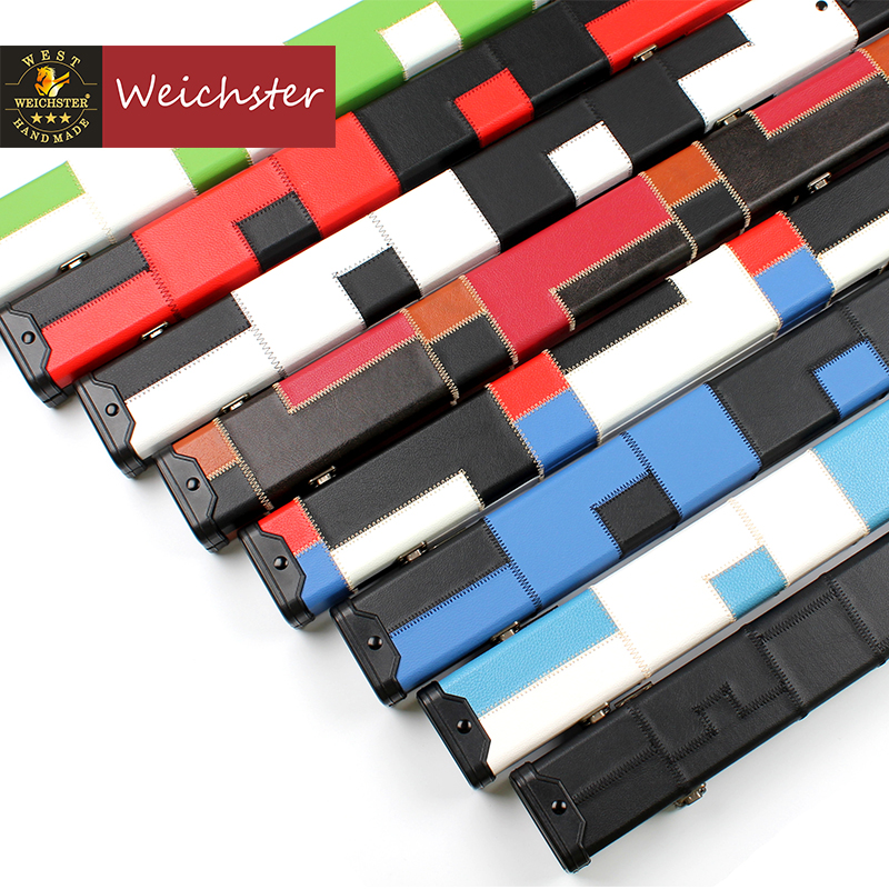 Weichster One 1 Piece Patch Case Snooker Pool Hard Cue Cases
