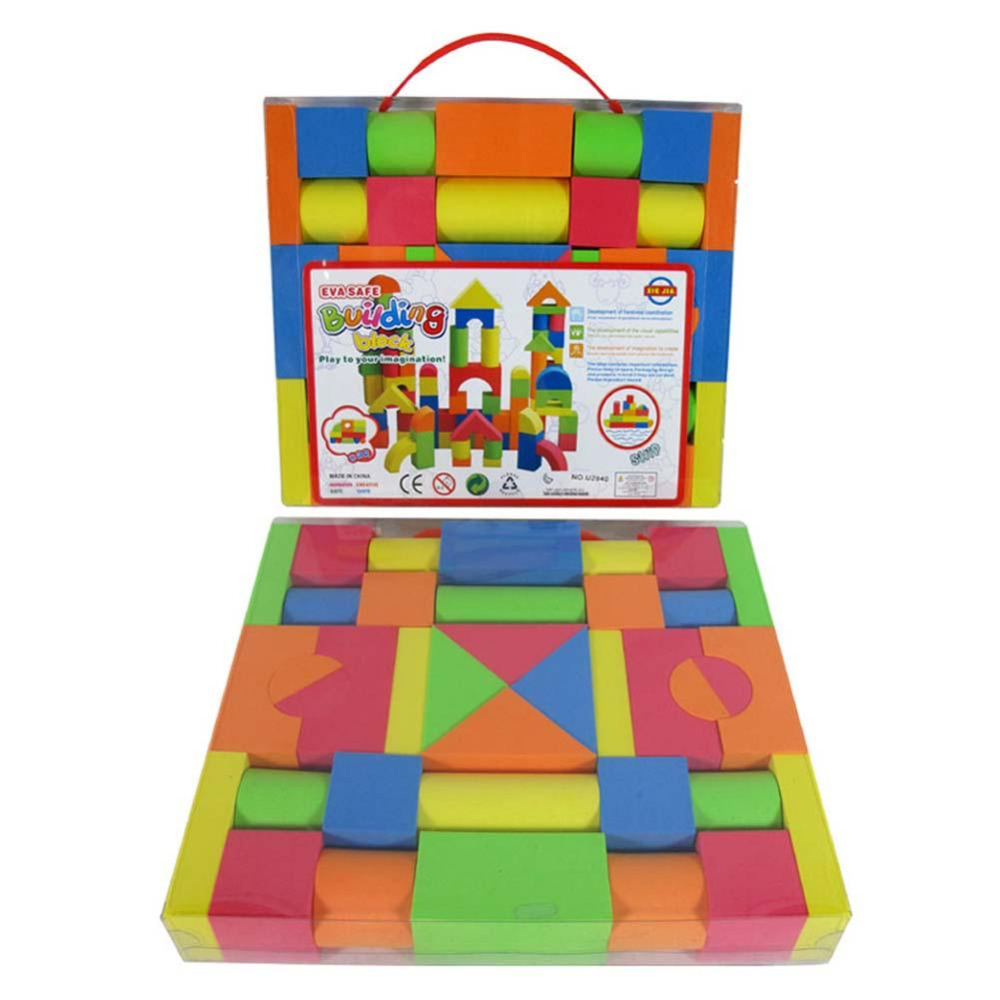 Hot Mixed Colors EVA Puzzle Building Toy For Kids Children Educational & Learning Toys Christmas gifts for kids Toddler Hot Sale 12 pieces children puzzle toy building blocks