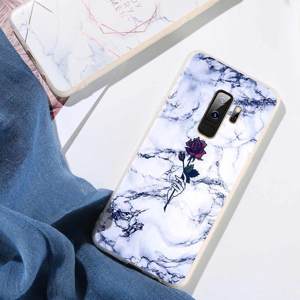 Mármore BEIJOS Case Para Samsung Galaxy Note 8 9 S8 S9 Plus S7 Borda TPU Capa de Silicone Para Samsung A3 a5 A7 J3 J5 J7 2016 A7 2017