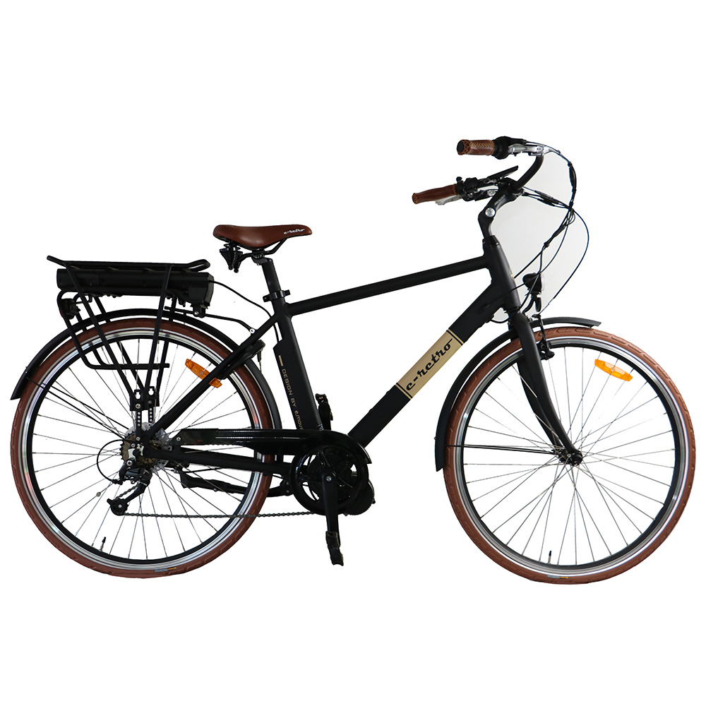 28inch City Electric Bicycle E Bike 36v250w With Bafang