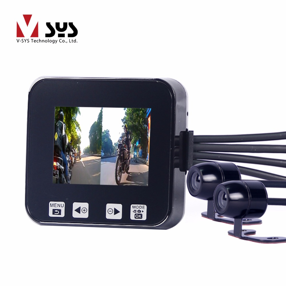 The best selling car dvr VSYS C6 motorcycle camera цена