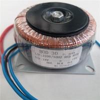 Dual 12V 15V 18V 24V 15V 12V 0 12V 15V 12V 0 12V 15V 0 15V 220V copper custom toroidal transformer 30VA power supply