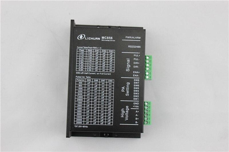 ФОТО 2 phase NEMA23 NEMA34 Stepper Motor Driver 20-80VDC 5.6A MC856 for DIY CNC Router Engraving Machine New
