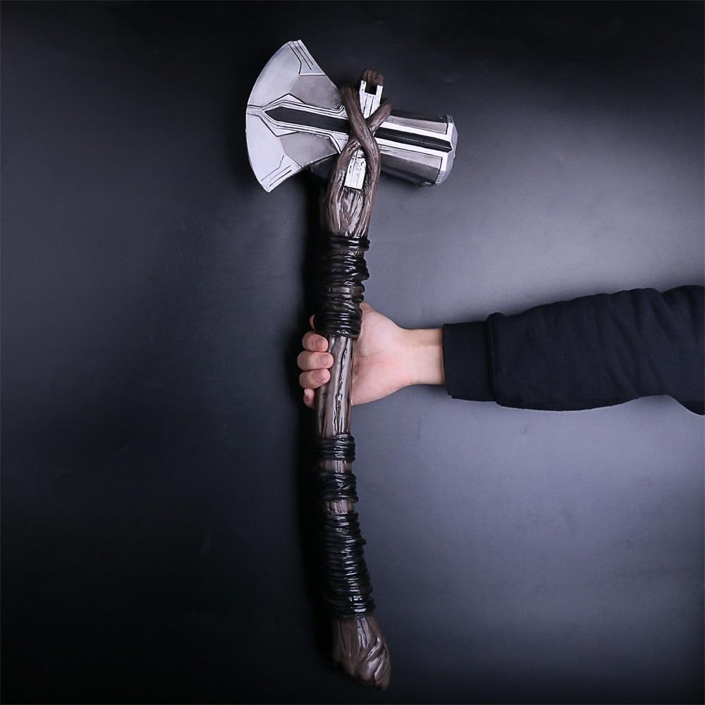 2018 Avengers 3 Infinity War Thor Stormbreaker Axe Cosplay Thor New Handmade Axe (6)