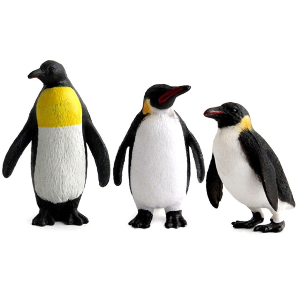 Action Figure Penguin Ocean Animal Model Kids Educational Simulation Models JDS