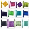 Alta Calidad 41 colores Nueva Venta Al Por Mayor Un Conjunto de Satén pañuelo de Hankerchief Bolsillo Hombres Toalla Sólido Corbata Pajarita T156201