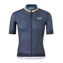 2019 Pro Team PNS мужская летняя велосипедная футболка с коротким рукавом быстросохнущая велосипедная MTB велосипедная верхняя одежда силиконовая Нескользящая