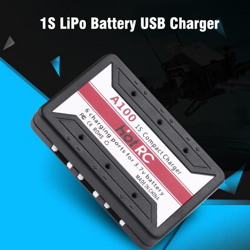 RC Accessory 1S 3.7V LiPo Battery Charging USB Interface Charger preventing the battery from overcharging/rising temperatures
