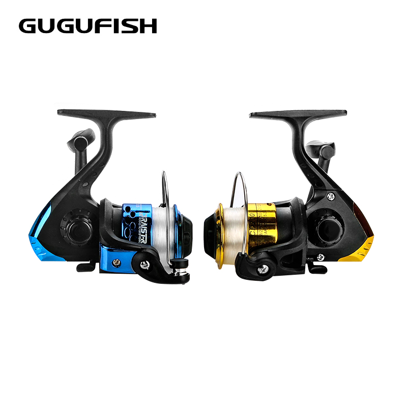 GUGUFISH Folding Spinning Fishing Rels Wheel Spinning Reel Pardew Lure Wheel Vessel Bait Casting Flying Fishing Trolling