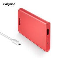 Easyacc 10000mah Power Bank For Xiaomi Mi 5V 2A USB Port Slim Portable Universal External Battery