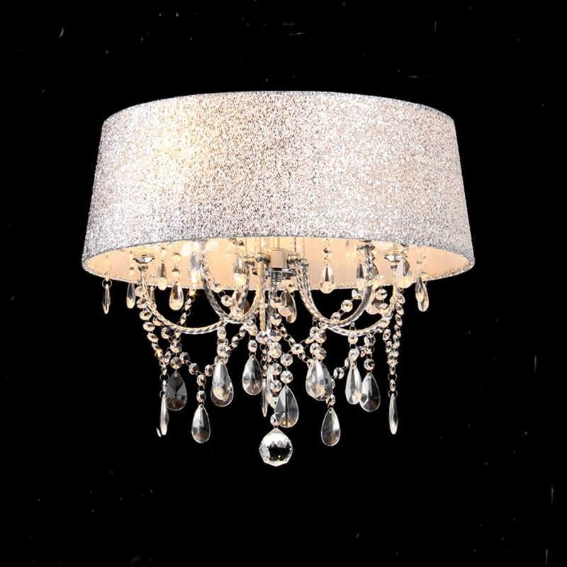 조명 램프 펜 던 트 조명 led 크리스탈 침실 고귀한 럭셔리 램프 굴뚝 e14 램프 유리 자료 led 전구 패션 전등 갓 xu