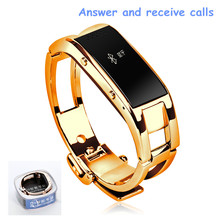 Smart Watch Bluetooth Pulsera Bracelet with Making Call Health Fitness Pedometer Anti-lost For Samsung Huawei HTC LG Smart Clock