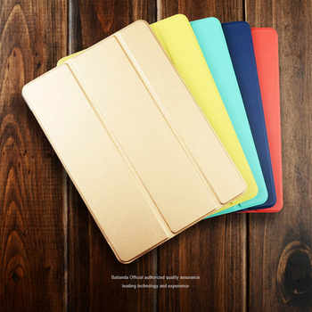 "Ultra Slim Smart Case Cover for Apple iPad Pro 12.9 2015 2016 12.9"" 2017 PU Leather Tablet Folding Folio Cases Auto Wake / Sleep"