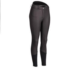 Image 1 - 女性乗馬パンツ馬術ズボンスポーツレギンス女性膝パッチ Jodphurs 乗馬パンツ