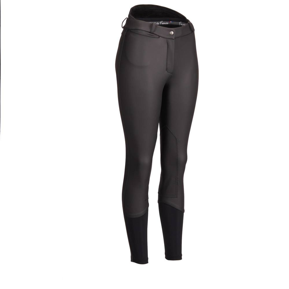 Women Horse Riding Pants Equestrian Breeches Sports Legging Ladies Knee Patch Jodphurs Riding Pant-in Breeches from Sports & Entertainment