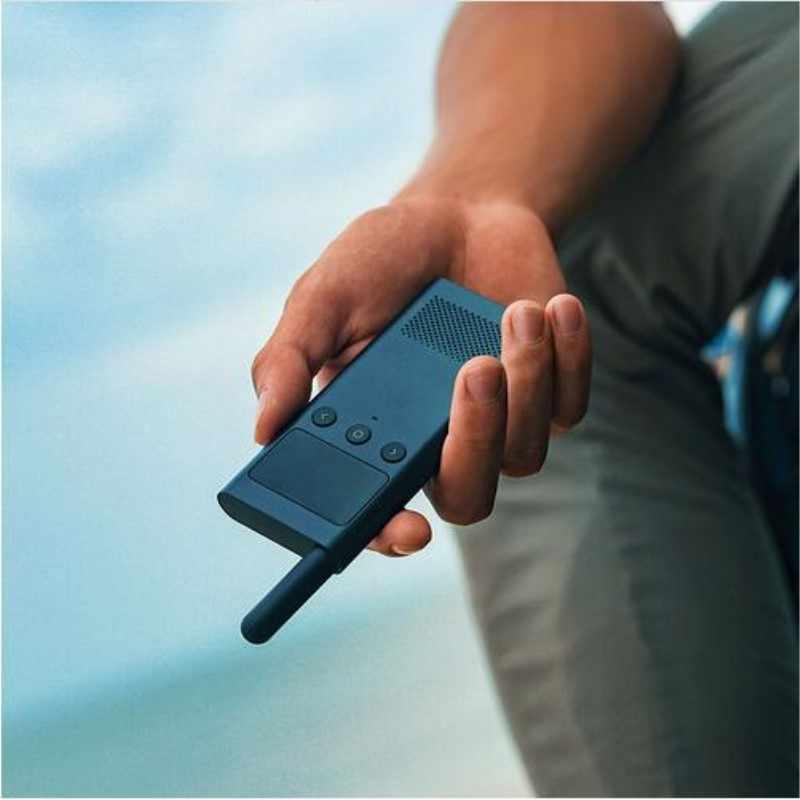 Оригинальная умная рация Xiaomi Mijia 1S с fm-радио динамиком в режиме ожидания смартфон приложение расположение поделиться быстрой командой разговора
