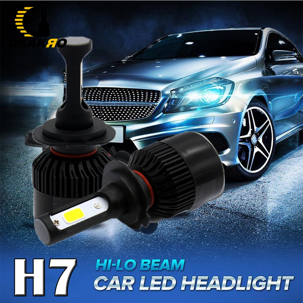 Image 2 - Car Headlight H1 H4 H8 H9 H11 H7 9005 LED 72W 4000LM 6000K LED Bulb Fog Light Auto Headlamp Lamps Pure White 3 Sides Dropshiping-in Car Headlight Bulbs(LED) from Automobiles & Motorcycles