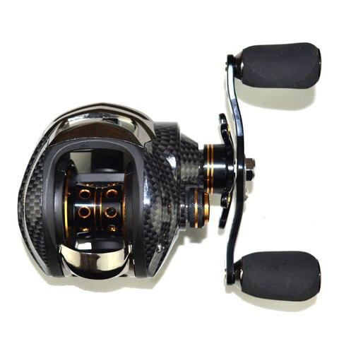 carretel de pesca de metal rolamento forte ferramentas nova roda