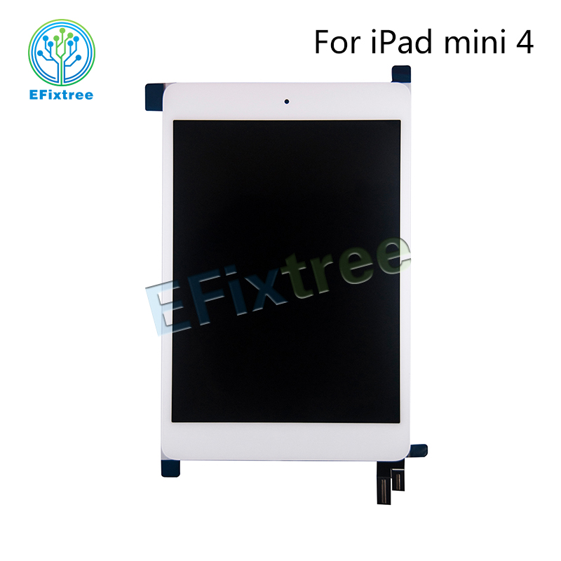 все цены на Full New A1538 A1550 LCD Assembly Black White For iPad Mini 4 LCD Front Display Touch Screen Digitzer Panel EMC 2815 EMC 2824