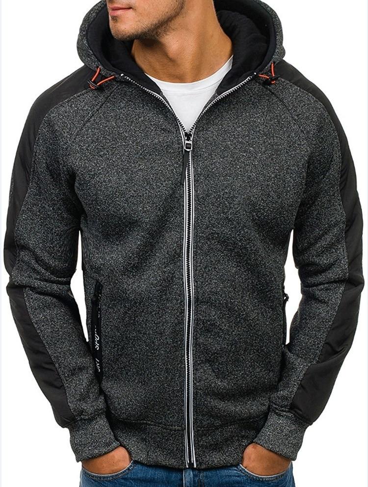 BOLUBAO 2018 Brand Hoodies Men Long Sleeve Solid Color Hooded Sweatshirt Mens Hoodie Tracksuit Sweat Coat Casual Male Sportswear