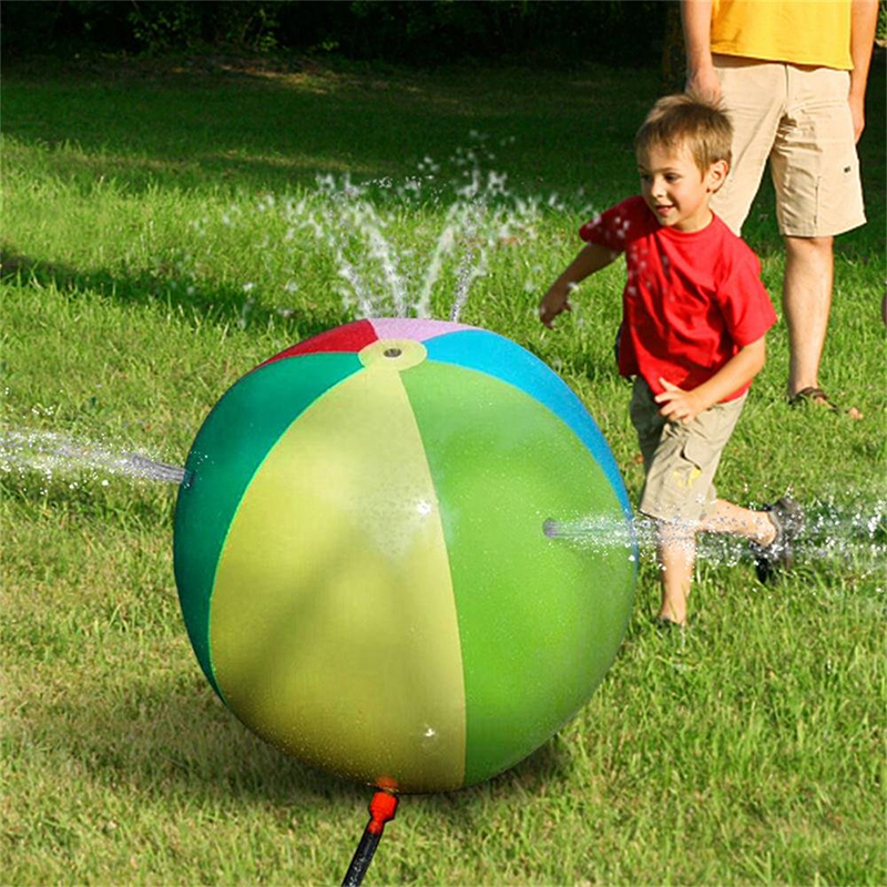 Inflatable Sprinkler Water Ball Outdoor Summer Swimming Pool Beach Party Play Toy Best Lawn Game Toy Outdoor Water Toy For Kids