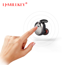 2018 Bluetooth Earphone TWS True Wireless Earbuds Bluetooth 4.1 Stereo Earphones LJ-MILLKEY YZ125
