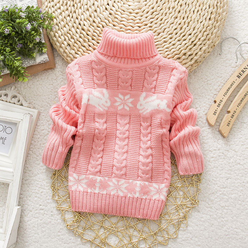 Sundae-Angel-Boys-sweater-For-Kids-Baby-Turtleneck-Thick-Long-Sleeve-Rabbit-Cartoon-Winter-2017-baby-girl-sweater-5