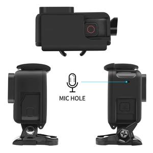 Image 3 - לירות מגן מסגרת מקרה הר עבור GoPro גיבור 7 6 5 שחור מצלמה מגן גבול עבור ללכת פרו 6 5 פעולה מצלמה אבזר