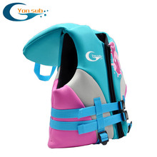 Kid Lift Vest Swimming Boy Girl Børn Life Jacket Badetøj Trainer Vandsport til Drifting Upstream Diving Udstyr